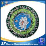 記念品の旧式なニッケルメッキの硬貨の円形浮彫り(Ele-C025)