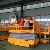 300kg che alzano idraulico verticale di capienza Scissor l'elevatore industriale della piattaforma