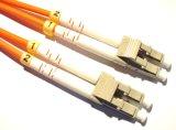 LC/Upc Singlemode Duplex Optische Kabel van de Vezel