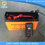luz de rua solar do controlador de 12V/24V PWM