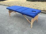 Деревянная таблица массажа, деревянная кровать массажа и таблица красотки