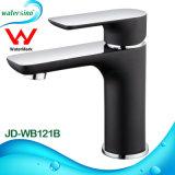 Европейская чернота и Chrome кран воды ванной комнаты 2 тонов роскошный