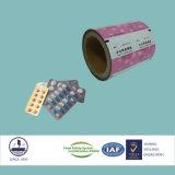 Película laminada certificada ISO para la aleación 1235-O del empaquetado farmacéutico