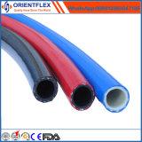 De de flexibele Rubber & Slang van de Compressor van de Lucht van pvc/Slang van de Mijnbouw/de Gevlechte Pijp van pvc vlak