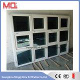 広州の最新のアルミニウムガラス窓デザイン