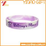 Il Wristband personalizzato del silicone con colore ha riempito
