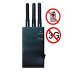 3W emittente di disturbo del segnale del telefono mobile delle antenne 2g 3G del Portable 3