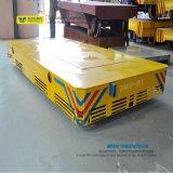 La rotella della macchina per colata continua ha attaccato il carrello di trasferimento della materia prima del trasportatore del workshop