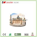 Magnete del frigorifero della costruzione della resina 3D per i regali domestici di promozione e della decorazione