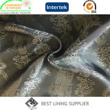 55% Polyester 45% Viscose Men's Suit Jacquard Lining Fabric Supplier