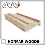 Moldeado de madera de madera del marco de puerta de la chapa de la alta calidad