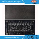 Visualización de LED delgada a todo color de interior de la cabina de HD P2 para hacer publicidad del canal de televisión
