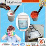 Tintas do Silkscreen da base da água para a roupa não tecida, tela feita malha, matérias têxteis tecidas