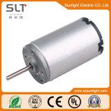 Pequeño Tamaño de 24V 0.1A de corriente de carga de CC Protegido eléctrico cepillado Motor Jardín Instrumento