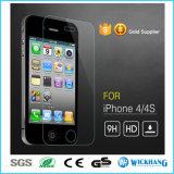 Erstklassiges reales Temperament-Glasbildschirm-Schoner für iPhone 4S