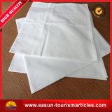 Linha aérea redonda de pano de tabela do Tablecloth do poliéster da tampa de pano de tabela do casamento do hotel