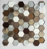 Heißer Verkauf Hand-Schnitt Wand-Kunst-Aluminium-Mosaik