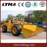 Tecnologia nova carregador subterrâneo da roda de 2 toneladas mini para a venda