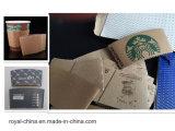 Máquina modelo de Gluer de la carpeta de la funda de la taza de café con ISO9001