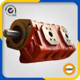 Pompe à engrenages hydraulique tandem à haute pression pour l'entraîneur