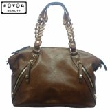 Het Leer van de Zakken Pu van de Manier van het Embleem van de douane Dame Handbags (3025#)