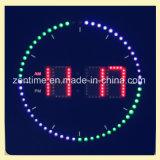 L'horloge de mur chaude du modèle DEL Digital dans la forme carrée
