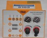 Injetor de pulverizador eletrostático do revestimento do pó de Colo 800 com funil do pó