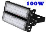 보장 5 년 IP65 100개 와트 점화하는 옥외 저장 야드는 높은 만 LED를 방수 처리한다