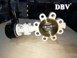 De Vleugelklep van het Wafeltje Wcb van de worm Dn80 Class300