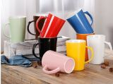 Vente en gros New Bone China Milk Mug avec boîte de couleur