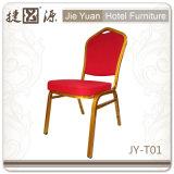 金属の椅子(JY-T01)を食事する鋼鉄スタッキングのホテルのレストランの宴会