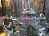 병에 넣어진 무기물 순수한 물 기계3 에서 1 자동