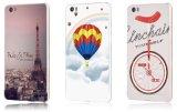 Caisse protectrice en métal fait sur commande de luxe d'impression pour la note de Xiaomi