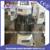 Misturador de massa de pão da espiral da farinha de trigo da máquina 50kg do pão