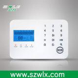 Sistema de alarma dual sin hilos de la red PSTN&GSM del telclado numérico del tacto (WL-JT-99CS)