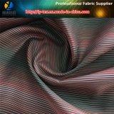ポリエステルあや織りのヤーンによって染められる縞ファブリック、ポリエステルファブリック