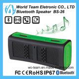 多彩なIP67携帯用小型Bluetoothの無線電信のスピーカー