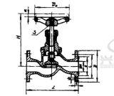 De DIN Van een flens voorzien Sluitkleppen van het Brons