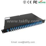 Passivo ottico 8 Channle 100g 200g Mux/Demux DWDM del multiplexor della fibra