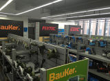 Herramienta eléctrica Fixtec Serrar máquina 570W plantilla vio la máquina de madera