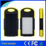 Mini batería impermeable de la energía solar 5000mAh