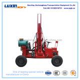 Mini fabricante hidráulico da máquina da pilha para a instalação do borne do Guardrail