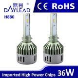 Phare chaud de véhicule de la vente DEL d'usine pour l'ampoule automatique H1/H3/H4/H7/H8/H9/H10/H11/H13