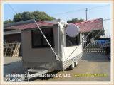 Caminhão móvel do alimento de Foodtruck do projeto da forma de Ys-400A para a venda