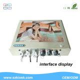 15 pouces IP65 imperméabilisent le Signage de Digitals Multi-Touchent tous dans un PC
