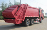 Sino caminhão de lixo de HOWO 6X4 16mt
