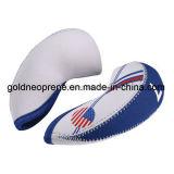 Neues 10PCS weißer u. blauer USA-Markierungsfahnen-Neopren-Golfclub-Eisen-Kopf-Deckel