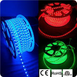Tiras cambiantes LED del color flexible de SMD 5050 RGB con ETL aprobado