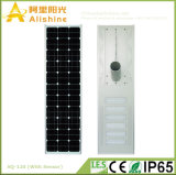 120W 5 años del alto brillo de la garantía de la energía solar de luz de calle para la construcción de Modenization