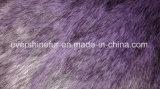 Alta tessuto a riccio lungo lavorato a maglia del Faux della pelliccia artificiale della pelliccia di falsificazione del mucchio pelliccia